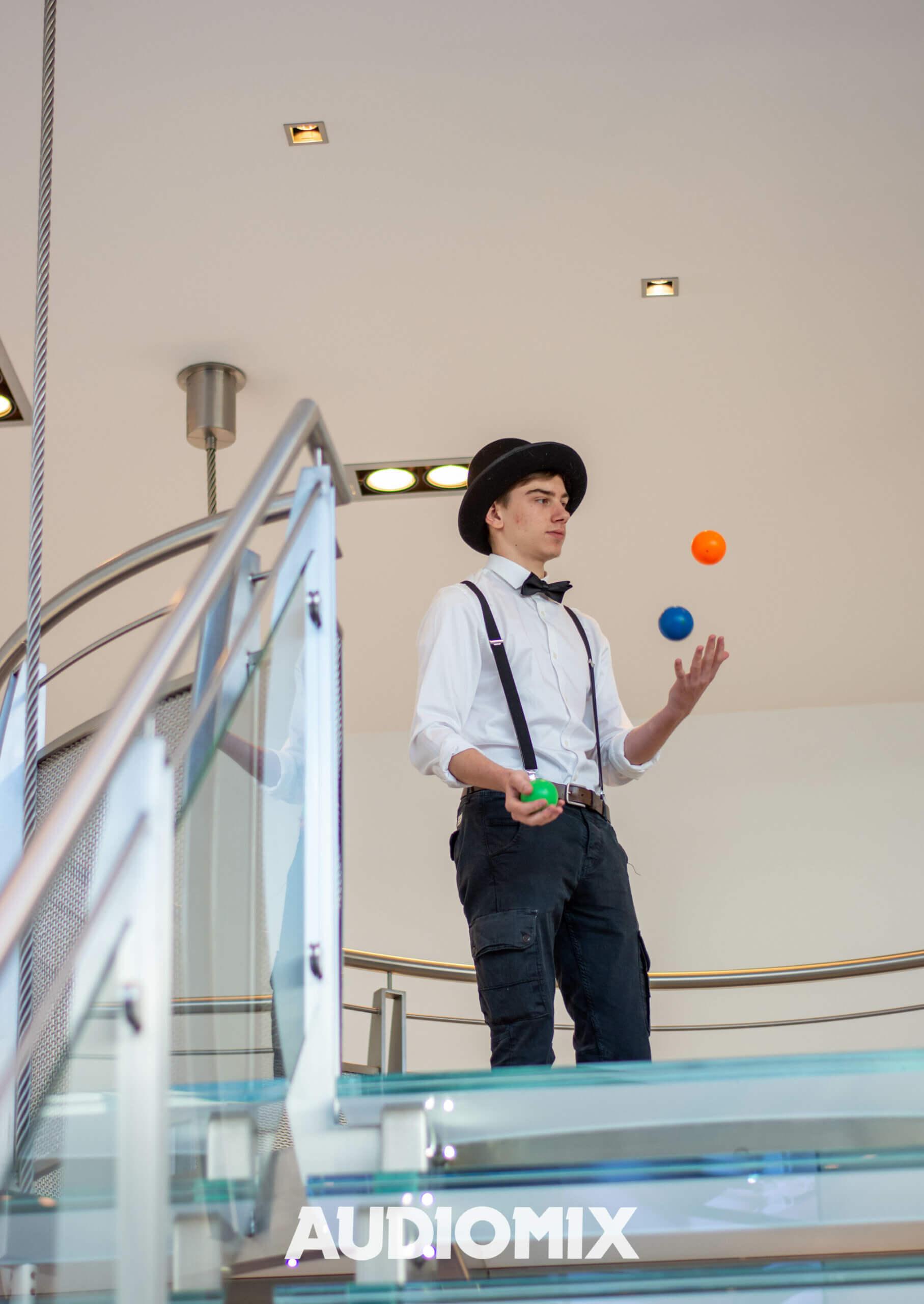 jongleur opendeur