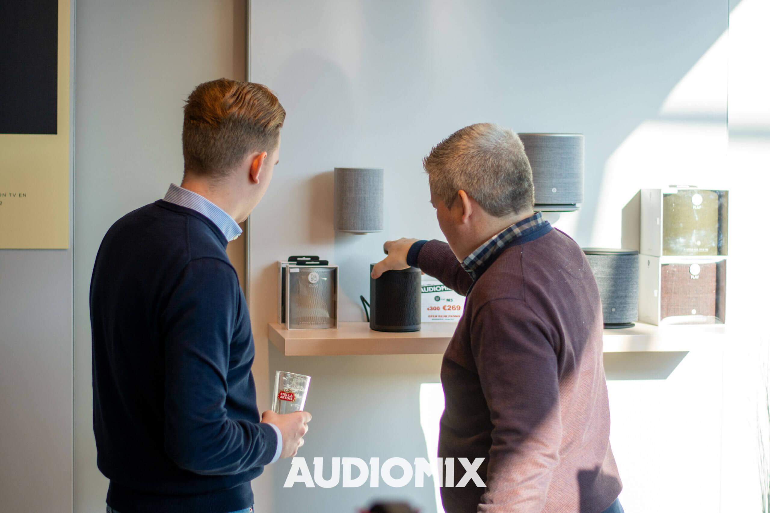 speaker audiomix